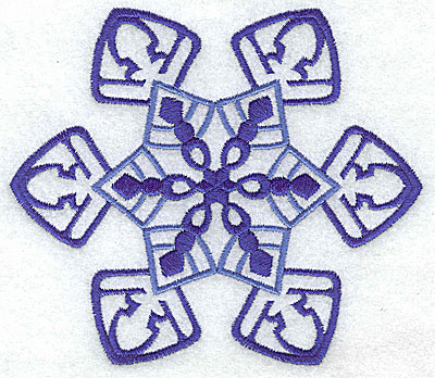 Embroidery Design: Snowflake 7 large 4.96w X 4.31h