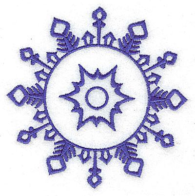 Embroidery Design: Snowflake 8 medium 3.83w X 3.83h