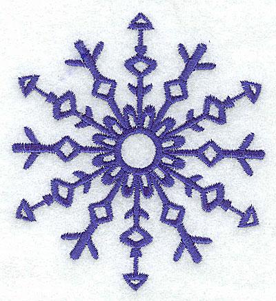 Embroidery Design: Snowflake 9 medium 3.48w X 3.86h