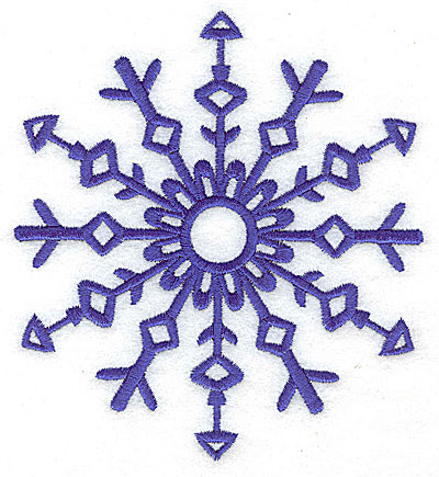 Embroidery Design: Snowflake 9 large 4.45w X 4.94h