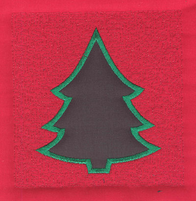 Embroidery Design: 4 inch Christmas Tree3.90w X 4.02h