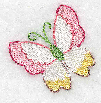 Embroidery Design: Butterfly small 1.47w X 1.49h