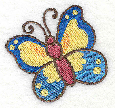 Embroidery Design: Butterfly 2.55w X 2.44h