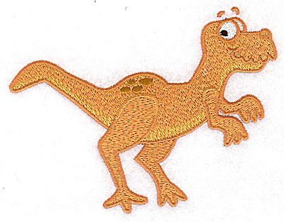 Embroidery Design: Dinosaur B large 4.97w X 3.84h