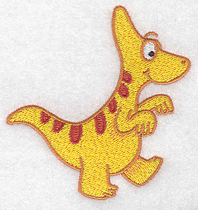 Embroidery Design: Dinosaur C small 3.38w X 3.54h