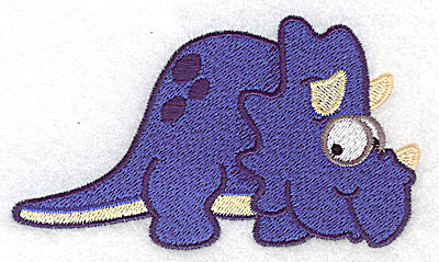 Embroidery Design: Dinosaur E large 4.55w X 2.63h