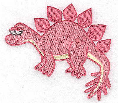 Embroidery Design: Dinosaur J small 3.87w X 3.57h