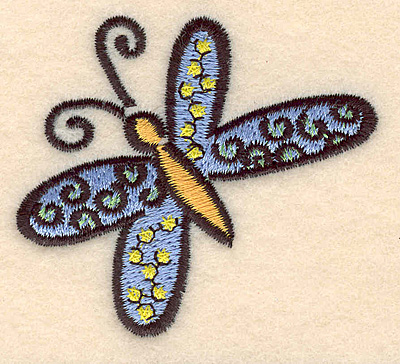 Embroidery Design: Butterfly B large 2.69w X 2.44h