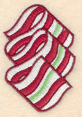 """Embroidery Design: Christmas candy large2.63""""Hx1.80""""W"""
