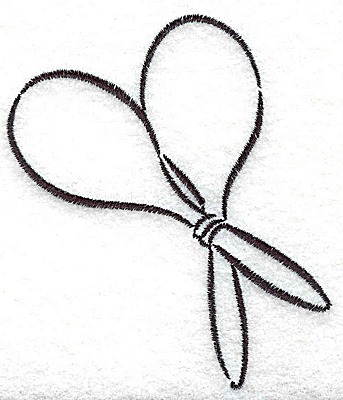 Embroidery Design: Maracas 3.07w X 3.51h