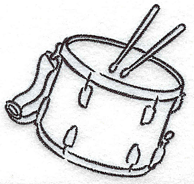 Embroidery Design: Snare drums 3.25w X 3.02h