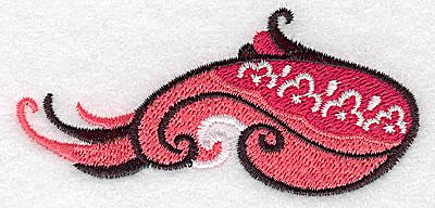 Embroidery Design: Design A 3.56w X 1.69h