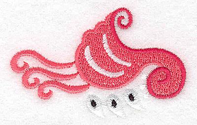 Embroidery Design: Design C 2.65w X 1.69h