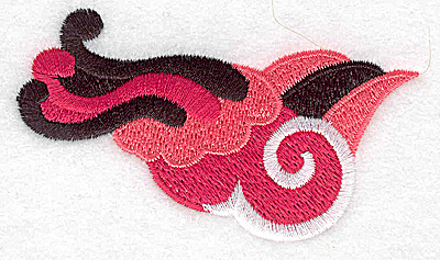 Embroidery Design: Design F 3.33w X 1.89h