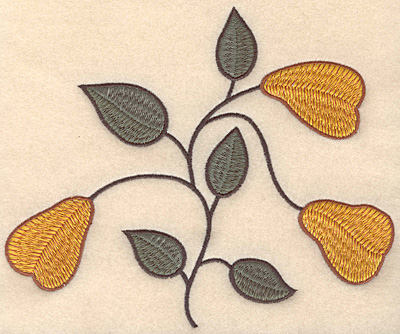 """Embroidery Design: Colonial Design 109 Large 6.48"""" x 7.82"""""""