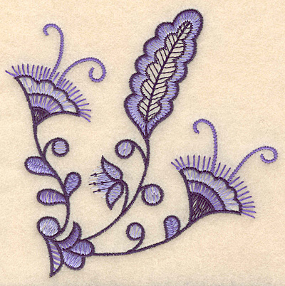 "Embroidery Design: Colonial Design 111 Small  5.01"" x 5.05"""