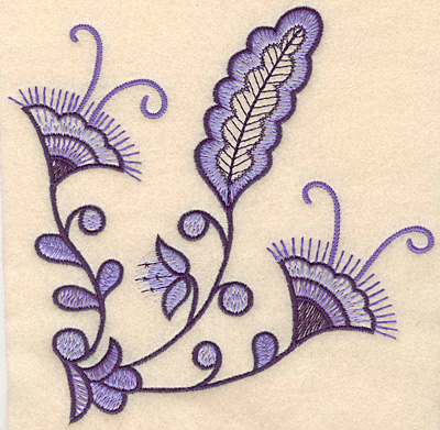"Embroidery Design: Colonial Design 112 Large7.00"" x 7.05"""