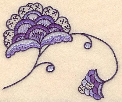 "Embroidery Design: Colonial Design 115 Small 4.15"" x 4.86"""