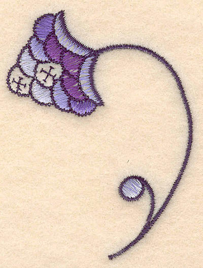 "Embroidery Design: Colonial Design 117 3.10"" x 2.28"""