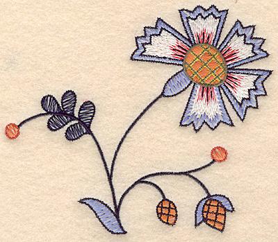 "Embroidery Design: Colonial Design 126 Small  4.87"" x 5.77"""