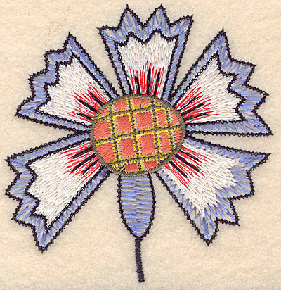 """Embroidery Design: Colonial Design 128 3.66"""" x 3.56"""""""