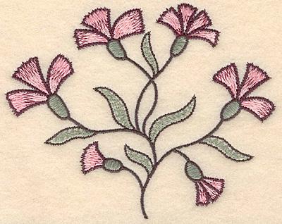 "Embroidery Design: Colonial Design 133 Small  4.37"" x 5.50"""