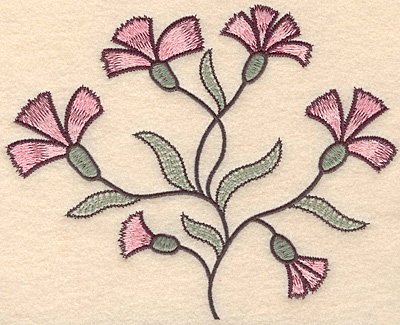 """Embroidery Design: Colonial Design 134 Large  6.12"""" x 7.68"""""""