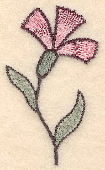 "Embroidery Design: Colonial Design 135 3.51"" x 2.07"""