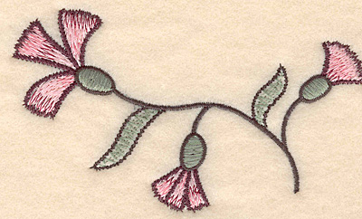 """Embroidery Design: Colonial Design 136  2.88"""" x 4.91"""""""
