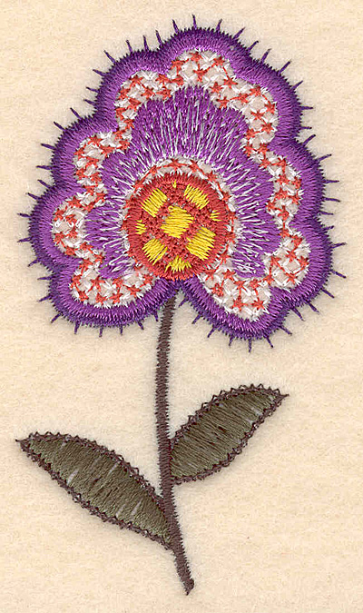 """Embroidery Design: Colonial Design 139 3.50"""" x 1.99"""""""