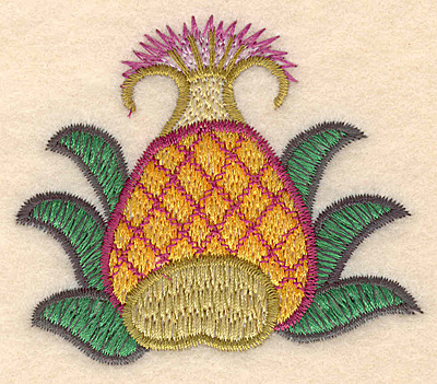 "Embroidery Design: Colonial Design 143 2.63"" x 3.01"""