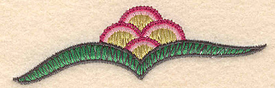 "Embroidery Design: Colonial Design 144 1.18"" x 3.89"""
