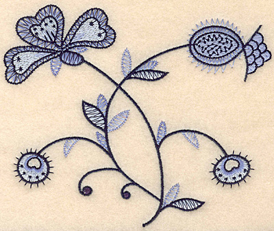"Embroidery Design: Colonial Design 146 Small 4.92"" x 5.91"""