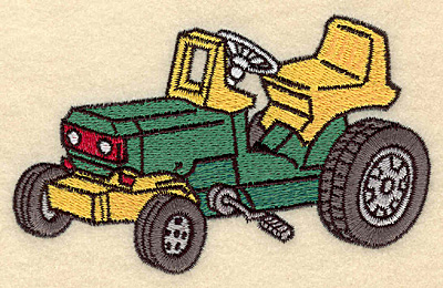 Embroidery Design: Tractor A5.00w X 3.12h