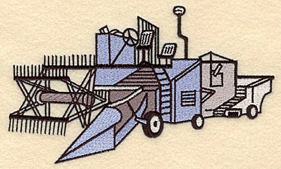 Embroidery Design: Harvestor 6.99w X 4.21h