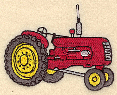 Embroidery Design: Tractor B5.00w X 3.90h