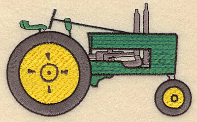 Embroidery Design: Tractor C5.00w X 3.05h
