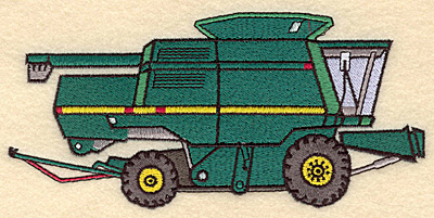 Embroidery Design: Hay Baler7.00w X 3.32h