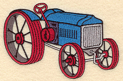 Embroidery Design: Tractor G5.00w X 3.28h
