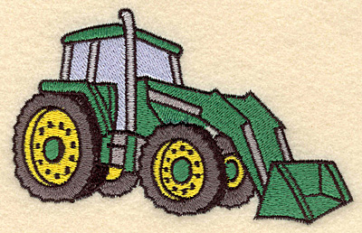 Embroidery Design: Backhoe5.00w X 3.12h
