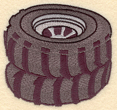 Embroidery Design: Tires3.75w X 3.50h