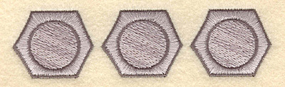 Embroidery Design: Bolts4.53w X 1.18h
