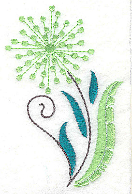 Embroidery Design: Dainty flowers 2B 2.36w X 3.54h