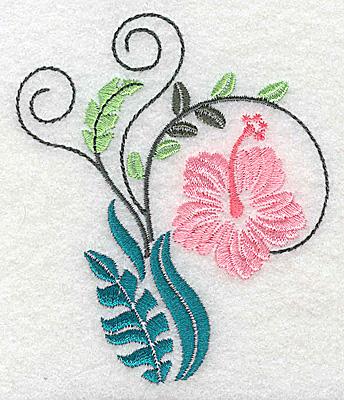 Embroidery Design: Dainty flowers 6B 3.16w X 3.74h
