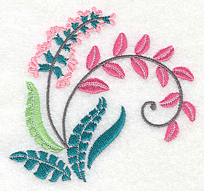 Embroidery Design: Dainty flowers 9C 3.38w X 3.17h