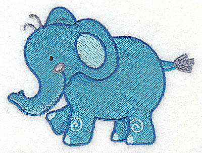 Embroidery Design: Elephant Small2.88h x 3.78w