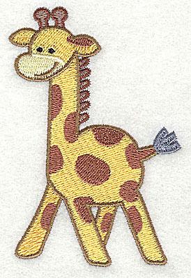 Embroidery Design: Giraffe Small3.86h x 2.63w
