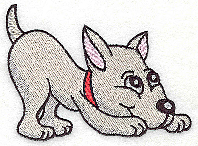 Embroidery Design: Devoted dog E large 4.92w X 3.49h