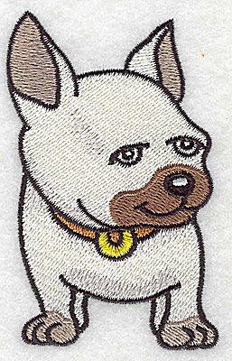 Embroidery Design: Devoted dog H small 2.12w X 3.55h