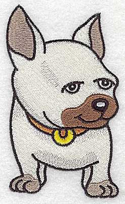 Embroidery Design: Devoted dog H large 2.76w X 4.61h